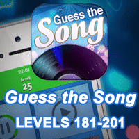 Guess the Song Answers levels 181-201