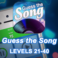 Guess the Song Answers levels 1-20