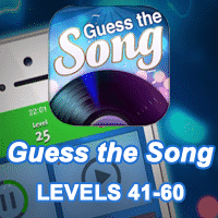 Guess the Song Answers levels 41-60